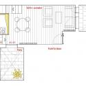 Loft Andrés Borrego / Beriot, Bernardini Arquitectos Ground Floor Plan