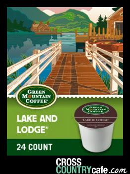Lake and Lodge Keurig K-cup coffee
