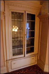 Leaded Doors used for Built-ins