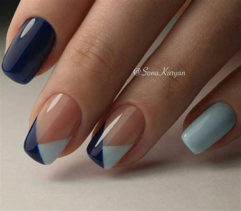 Best 20  Navy nail designs ideas on Pinterest   Blue