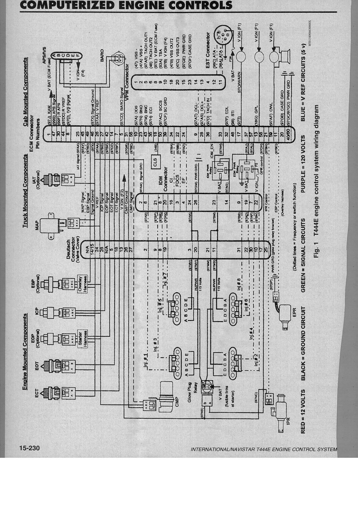 96 International 4700 Wiring Diagram