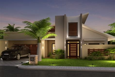 simple  trendy modern house elevation