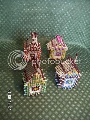 bangunan mancis 10 [Gambar Menarik] Bangunan Dari Batang Mancis