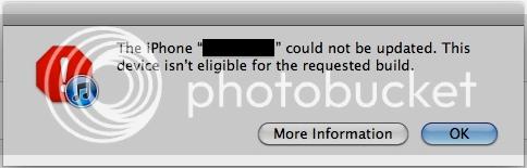 Este dispositivo no se puede leer para la compilación solicitada | error 3194