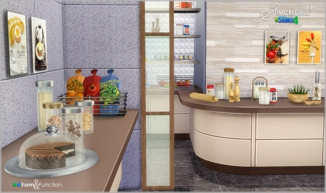 Form & Function kitchen decor at SIMcredible! Designs 4 ...