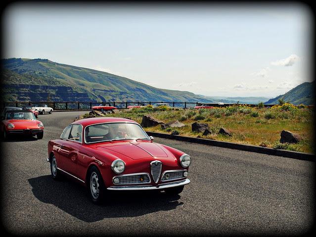 Alfa Romeo - Tom McCall Preserve - Eastern Columbia River Gorge
