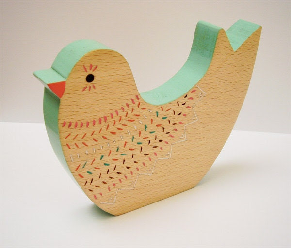 Decorative Bird Ornament - Coconuco