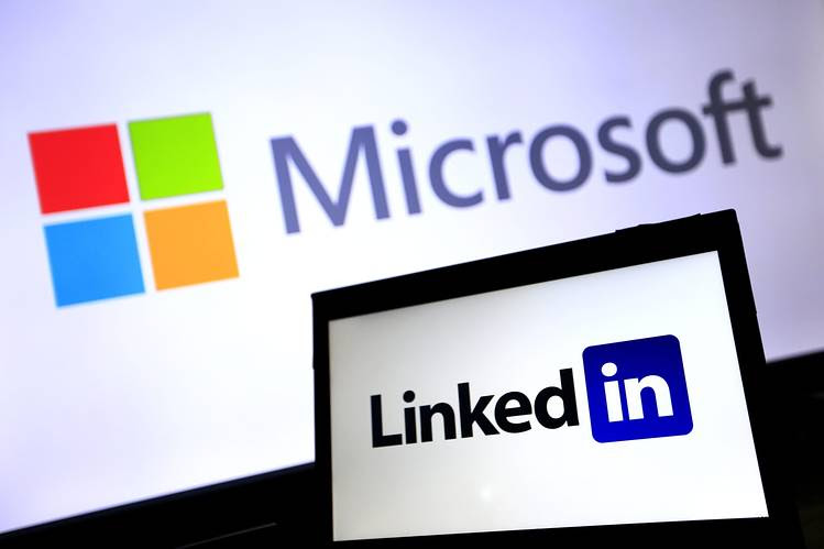 Image result for microsoft linkedin