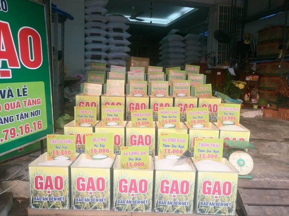 cửa hàng gạo