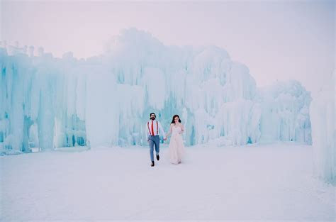 Would You Get Married in an Ice Castle?   Green Wedding Shoes