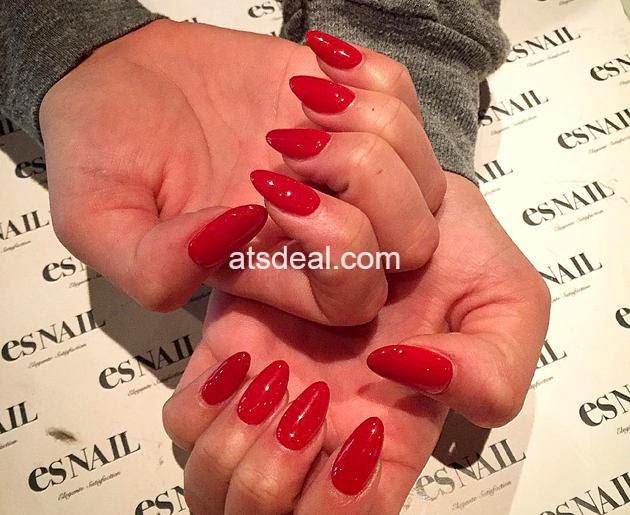 red nail polish trends 2019