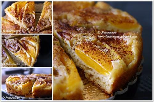 torta rovesciata mango banana limone
