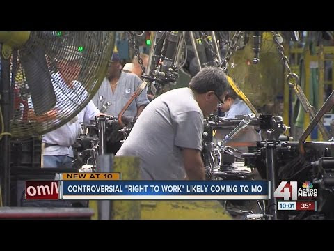 "TV Appearance: Controversial ""Right to Work"" may come to Missouri (41 Action News)"