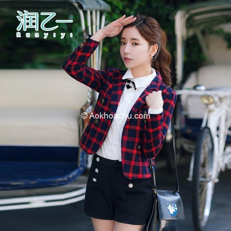 áo khoác học sinh nữ