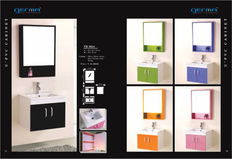 Product Catalogue Designs - GERMA Sanitarywares, Chennai. Page 6