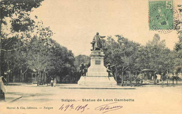 SAIGON - STATUE DE LEON GAMBETTA