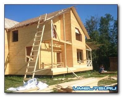 Какой построить дом дешевле каркасного типа или из бруса