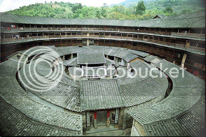 maison Hakka Tulou Chine