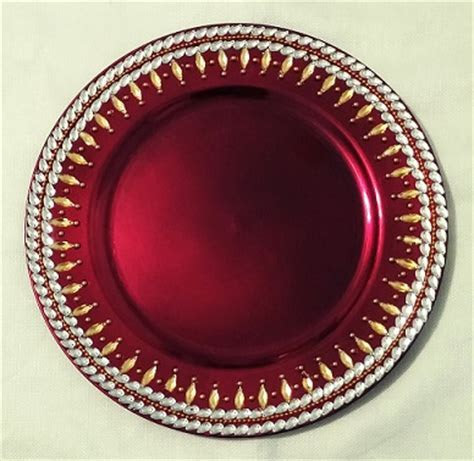 Colorful Decorative Plates ? Raji Creations