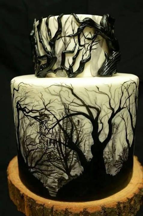 WOW! CREEPY CAKE! I WANT IT FOR MY BIRTHDAY!