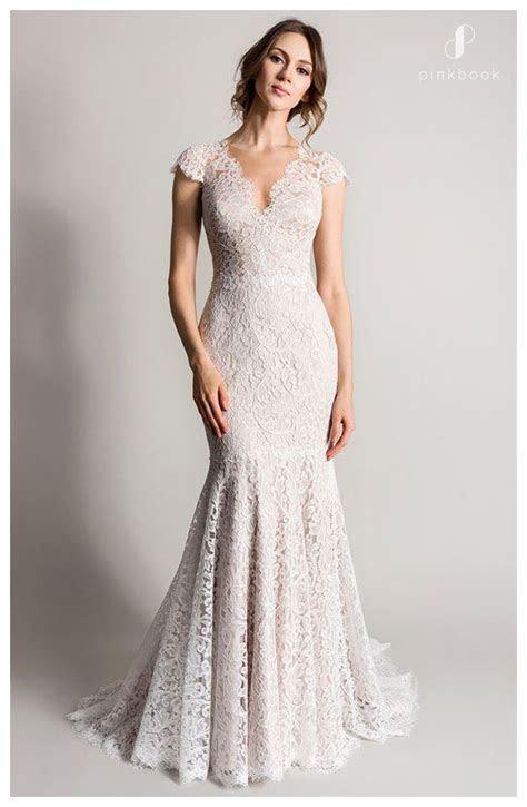 20 Stunning Mermaid Wedding Dresses l Pink Book Weddings