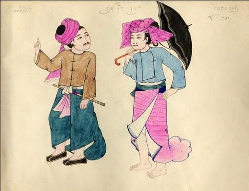 Tribes of Burma - Tai 1900