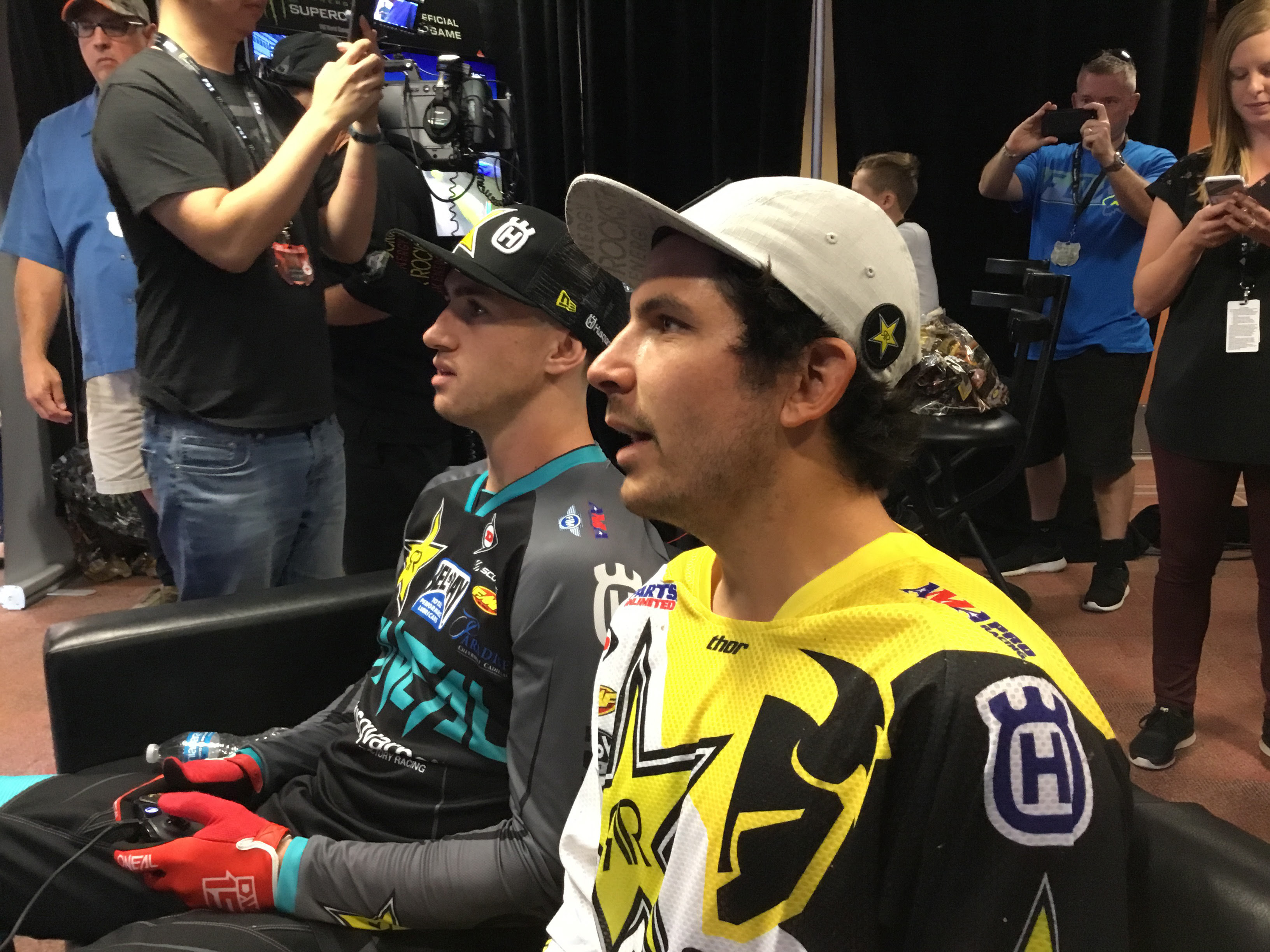 Beef, booze, and bikes: How Supercross the game made me a fan of Supercross the sport screenshot