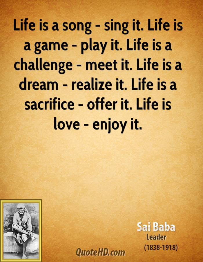 Sai Baba Love Quotes Quotehd