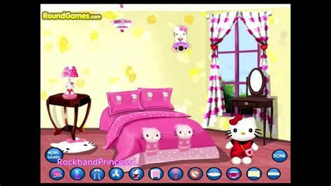 Hello Kitty Online Games Hello Kitty Room Decoration Game