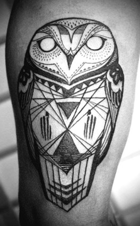 Gallery For Black And White Athena Owl Tattoos Clip Art Library