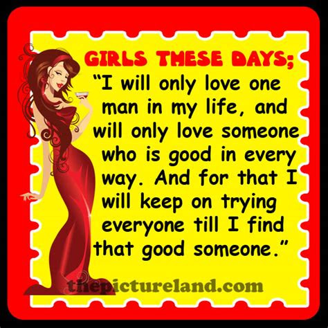 Girls These Days Quotes