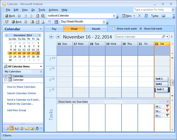 Create & Manage Daily Task List Planner in MS Outlook