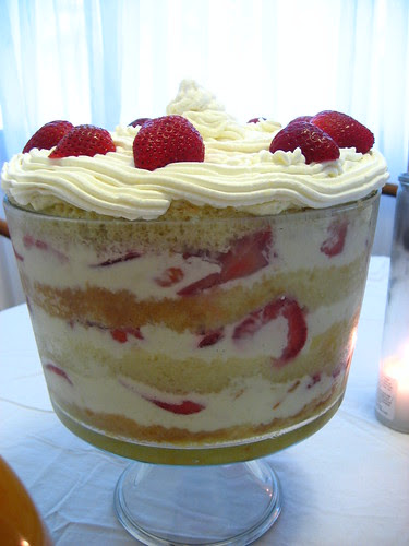 st honore birthday trifle