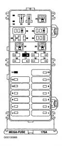 32 1999 Ford Taurus Fuse Box Diagram Under Hood - Wire ...