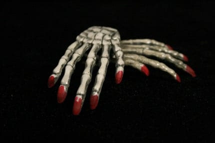 Custom choice Skeleton hands you pick the color