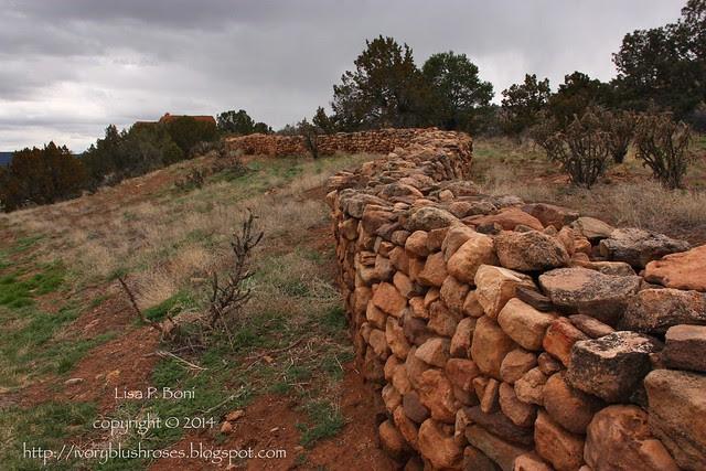 Pecos NHP Wall Ruin