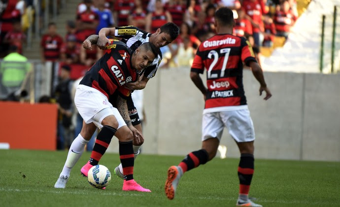 Flamengo x Santos Maracanã (Foto: André Durão)