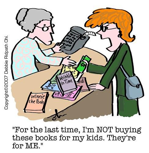 I read kids' books