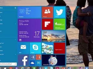 Windows 10, o novo sistema da Microsoft. (Foto: Divulgação/Microsoft)