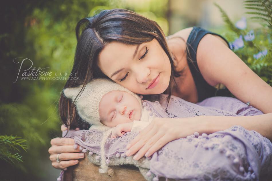 sesja dla noworodka