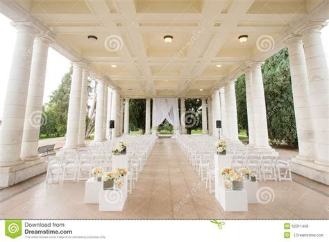 Wedding Ceremony Scene Stock Photo   Image: 52311456