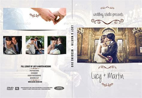 Wedding DVD / Blu Ray Cover 2 by Kahuna Design   GraphicRiver