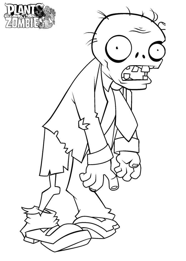 Cute Zombie Coloring Pages at GetColorings.com | Free ...