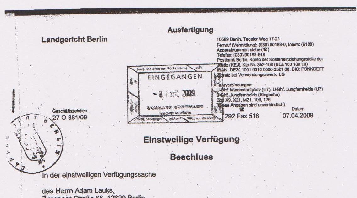 Zoll Versteigerung Berlin