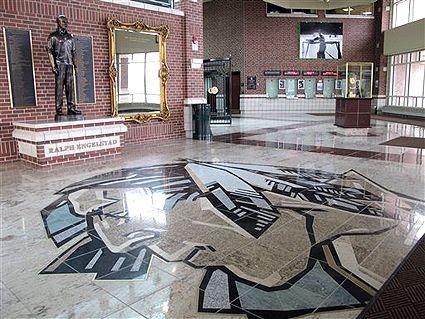 Ralph Engelstad floor logo, Ralph Engelstad floor logo