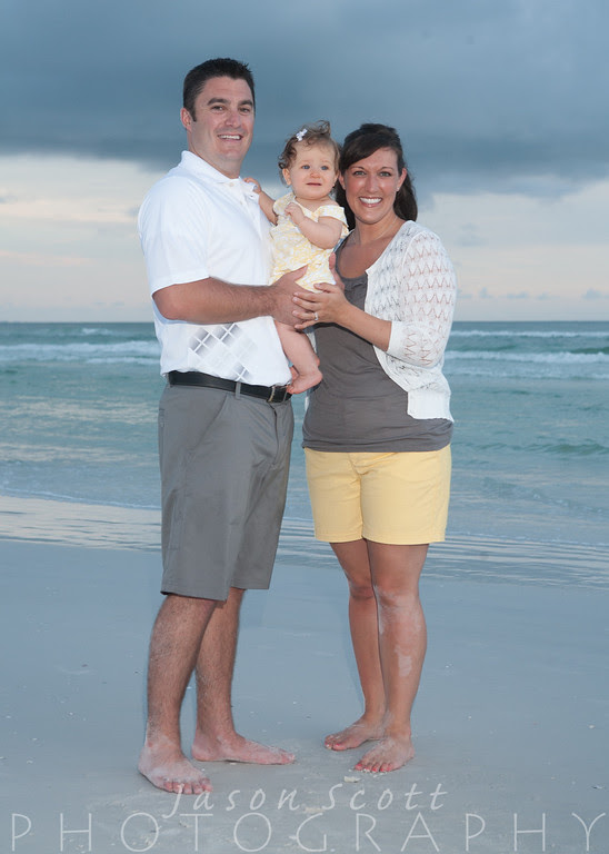Thornicroft Family on Siesta Key, September 2012