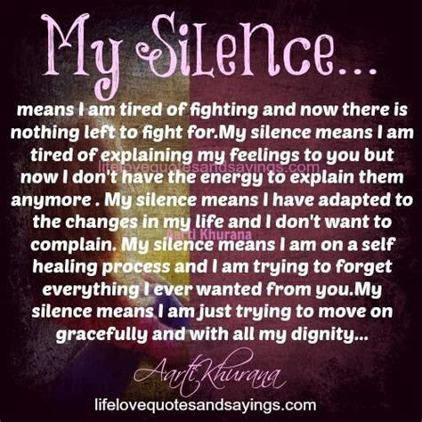 I Am Tired Of Fighting Quotes