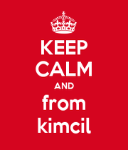 KEEP CALM AND from kimcil  KEEP CALM AND CARRY ON Image Generator