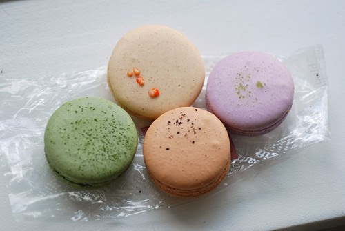 Macarons from Für Elise Patisserie