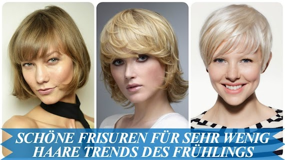 Neu Frisuren Bei Lichtem Haar Frauen